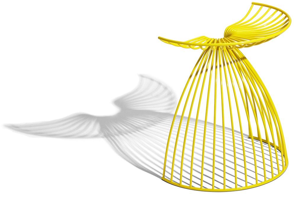 Angel chair by Gry Holmskov