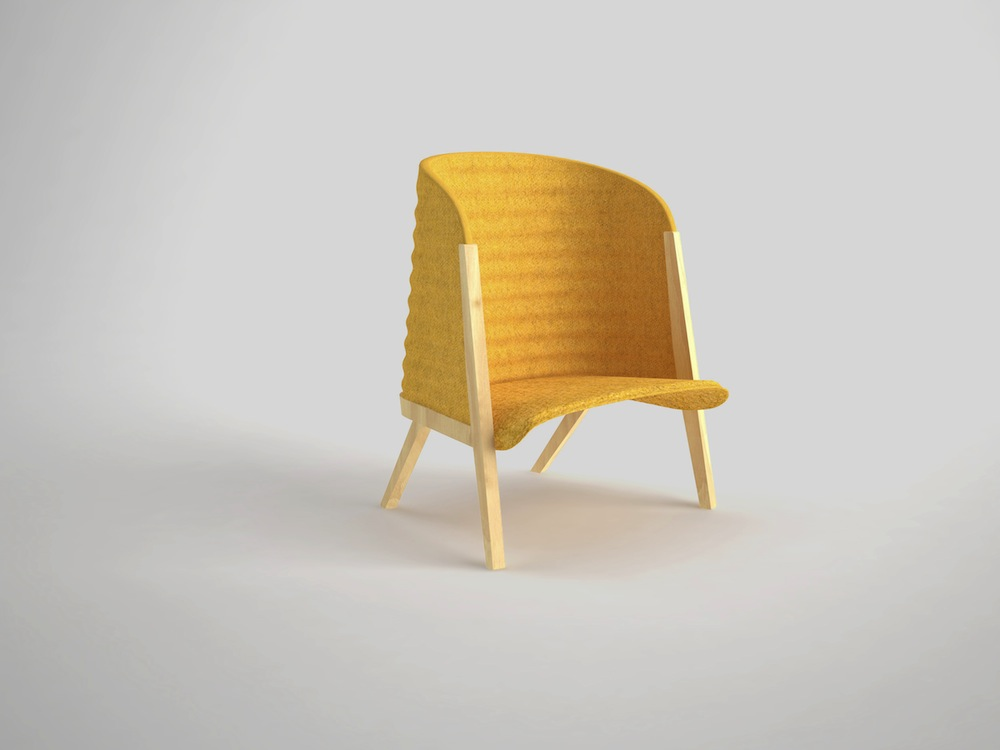 Mafalda chair by Patricia Urquiola of Moroso - Courtesy of Moroso.