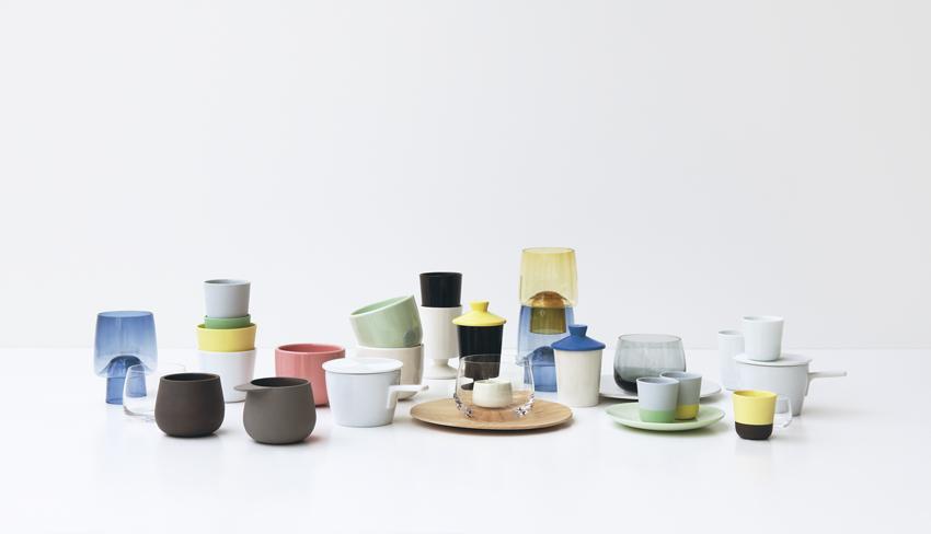 MAJA tableware by Pekka Kuivamäki - Photo by Chikako Harada