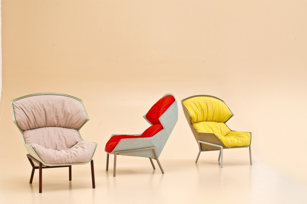 Clarissa chair by Patricia Urquiola of Moroso - Courtesy of Moroso.