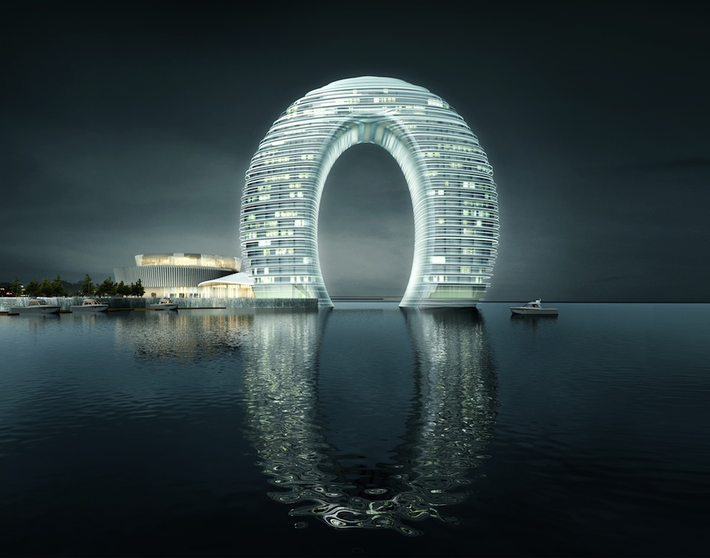 Sheraton Moon Hotel - All photos by Xia Zhi courtesy of ©MAD Architects.
