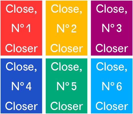 close closer 1