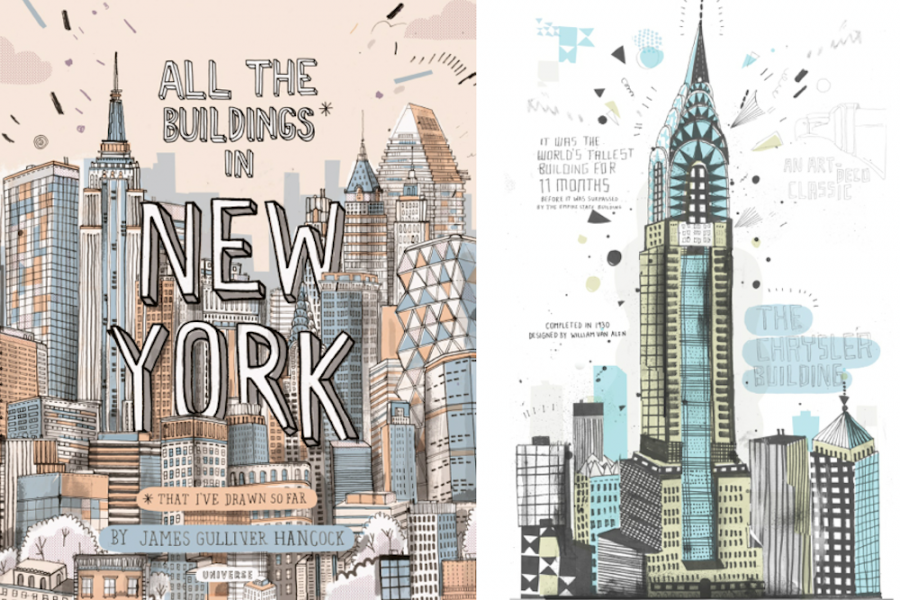 Alle the buildings in NY 01