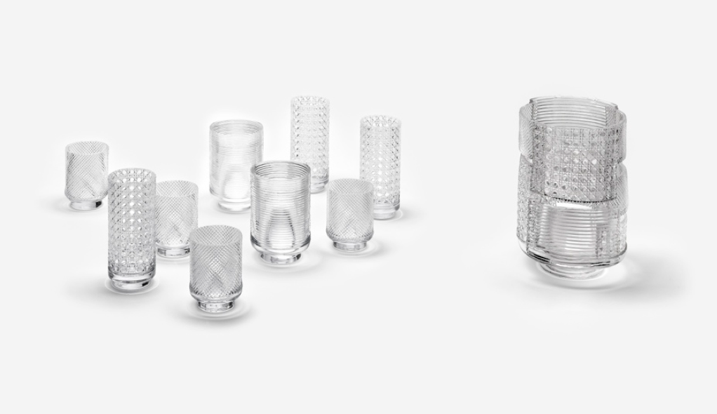 NENDO Patctwork Glass 03