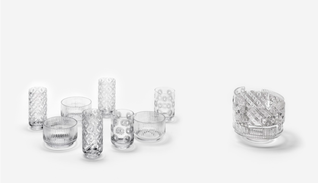 NENDO Patctwork Glass 04