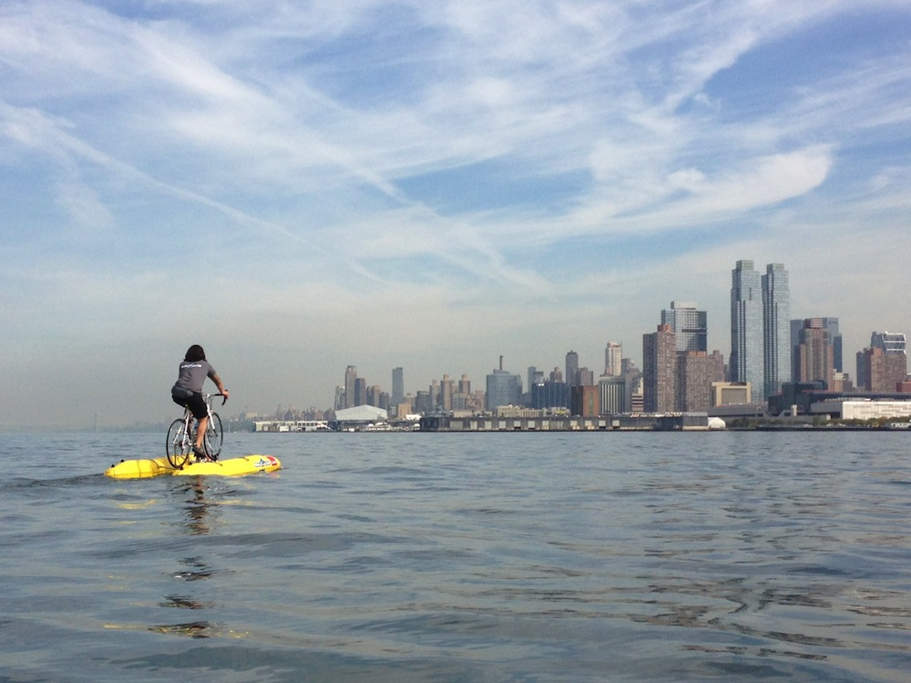 BayCycle Project Hudson River Photo Credit Hoboken Sailing Club