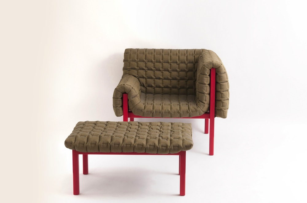 The Quilted Single-Armed-Chair