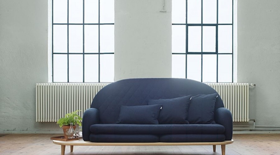 Rise sofa by NOTE Design Studio for Fogia – Photo by Mathias Nero; courtesy of NOTE Design Studio.