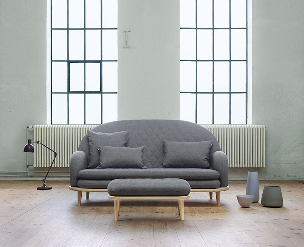 Rise sofa by NOTE Design Studio for Fogia - Photo by Mathias Nero; courtesy of NOTE Design Studio.