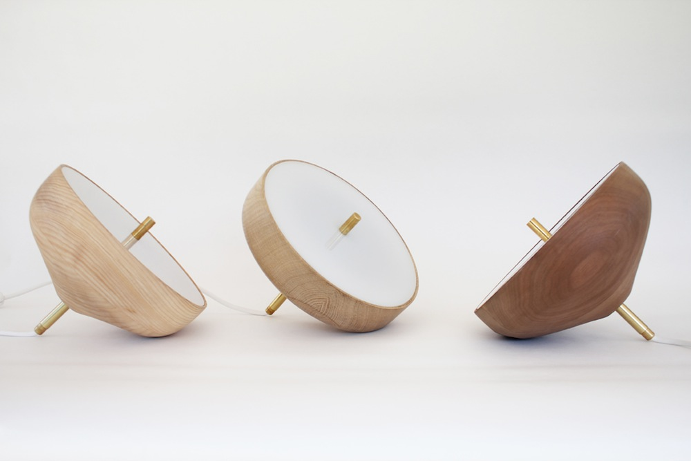Studio BAAG pirouette lamp-mix wood