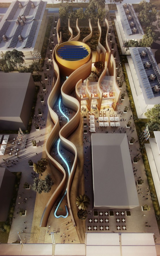 UAE Pavilion by Foster & Partners @ Milan Expo