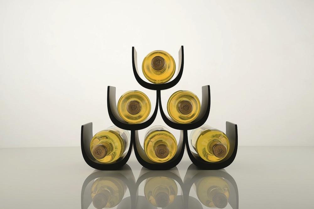 Alessi NOE Giuliio Iacchetti wine rack 1