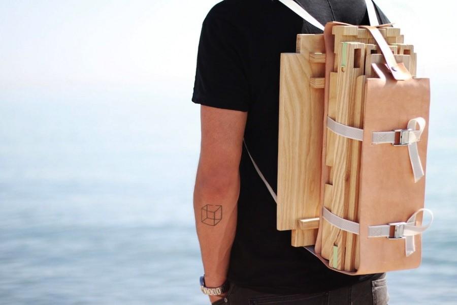 Nomadic Chair by Jorge Penades