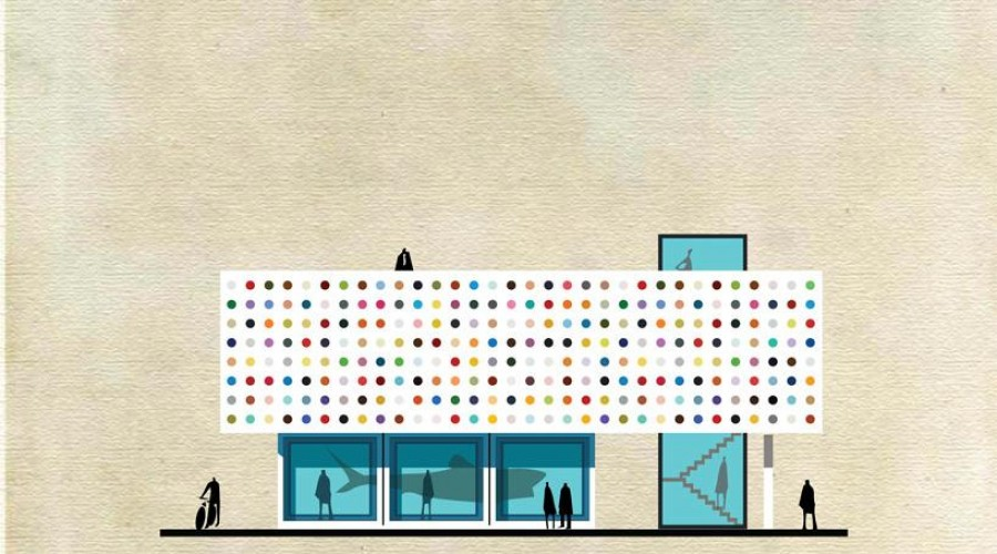 """Archist"" by Federico Babina: Damien Hirst"