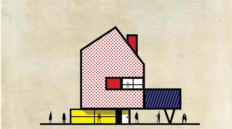 """""""Archist"""" by Federico Babina: Roy Lichtenstein"""