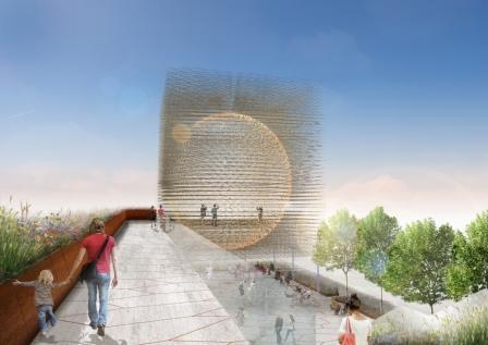 UK pavilion at Milan Expo