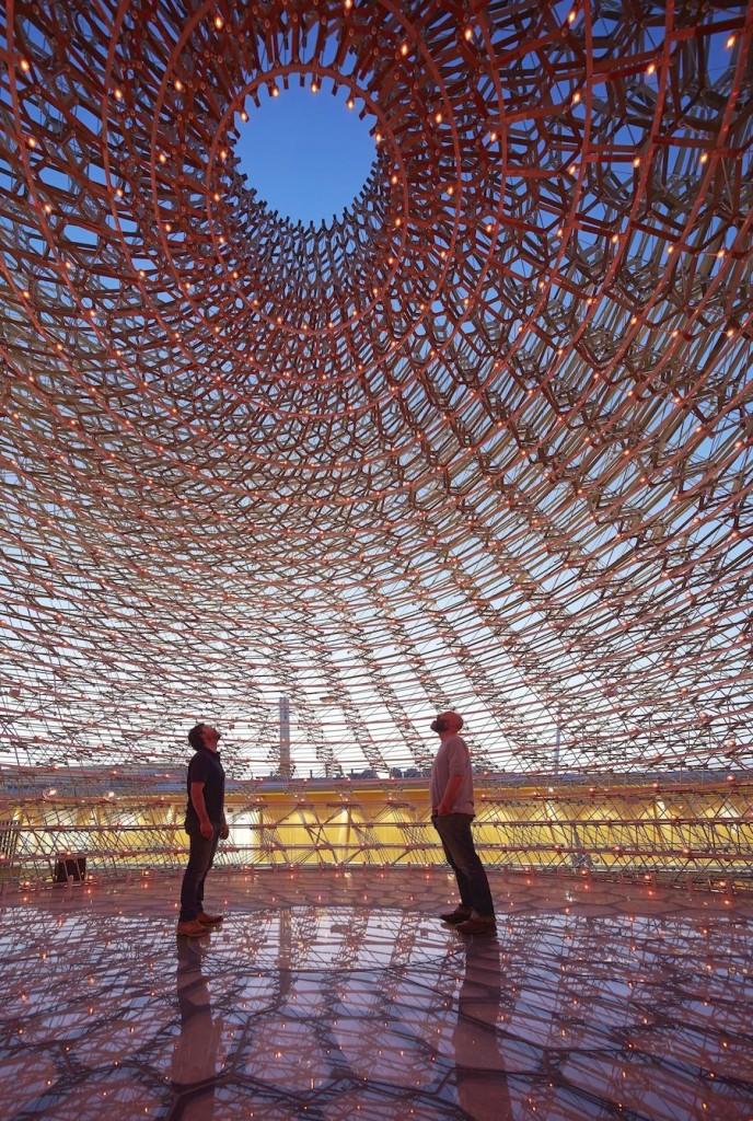 UK Pavilion at Milan Expo 2015 - Courtesy of UKTI.