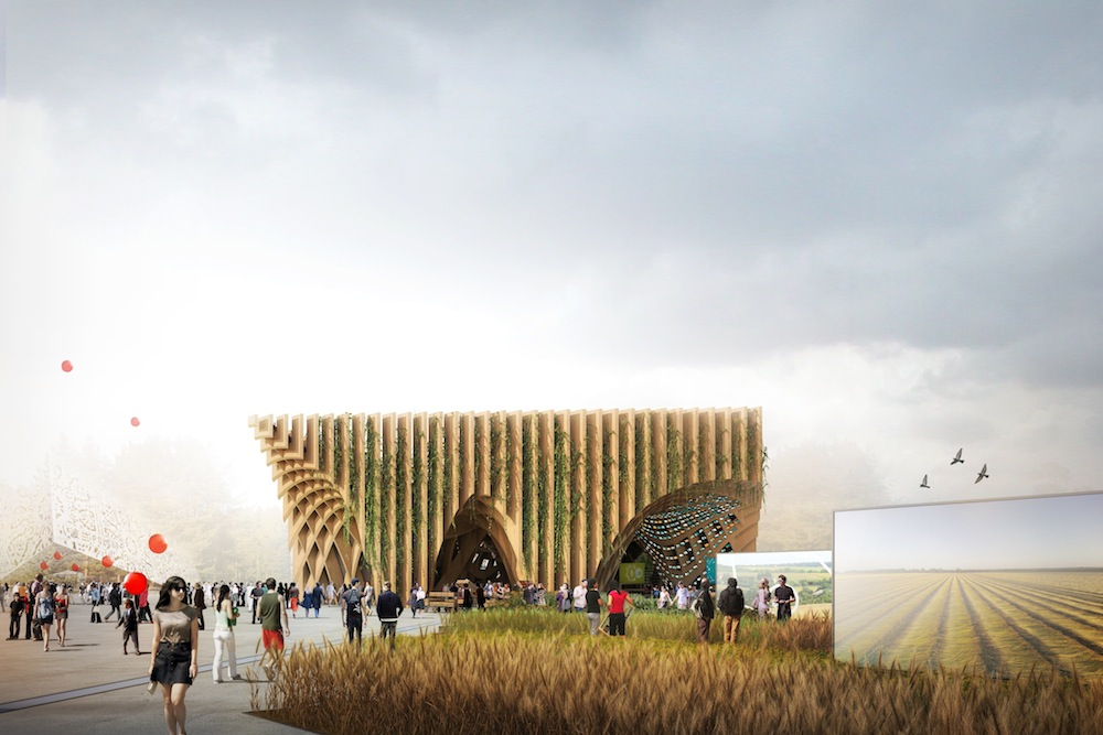 France Pavilion at Milan Expo 2015 by XTU architects.