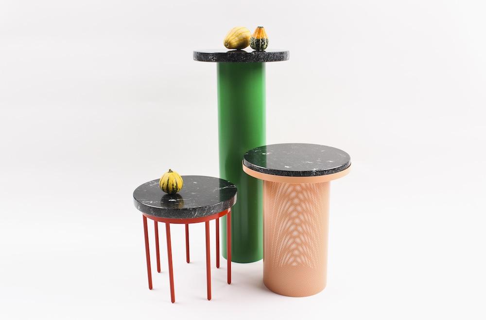 Vera & Kyte - Pedestal tables