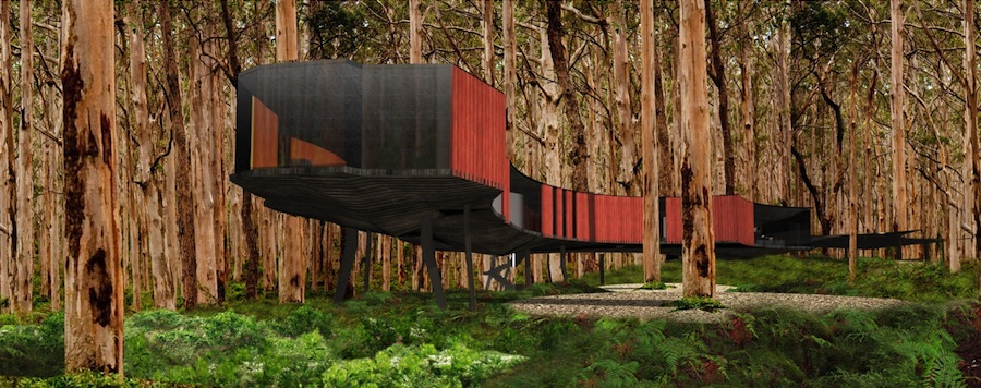 Iredale Pedersen Hook Architects, Jewel Cave Entry and Visitors Centre, Yallingup, Western Australia, Australia.