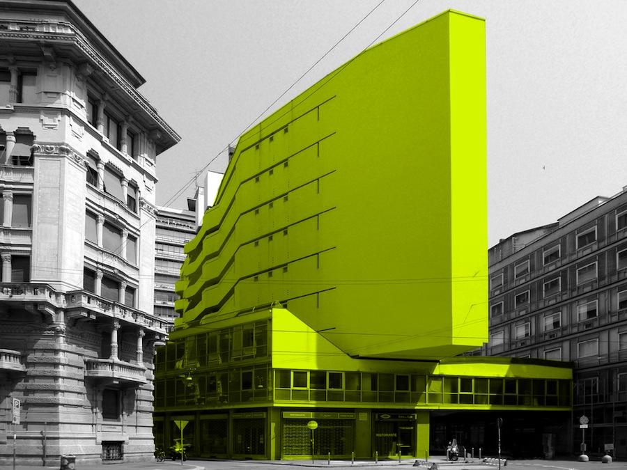Luigi Moretti - Corso Italia, Milano. Courtesy of CZA Architetti