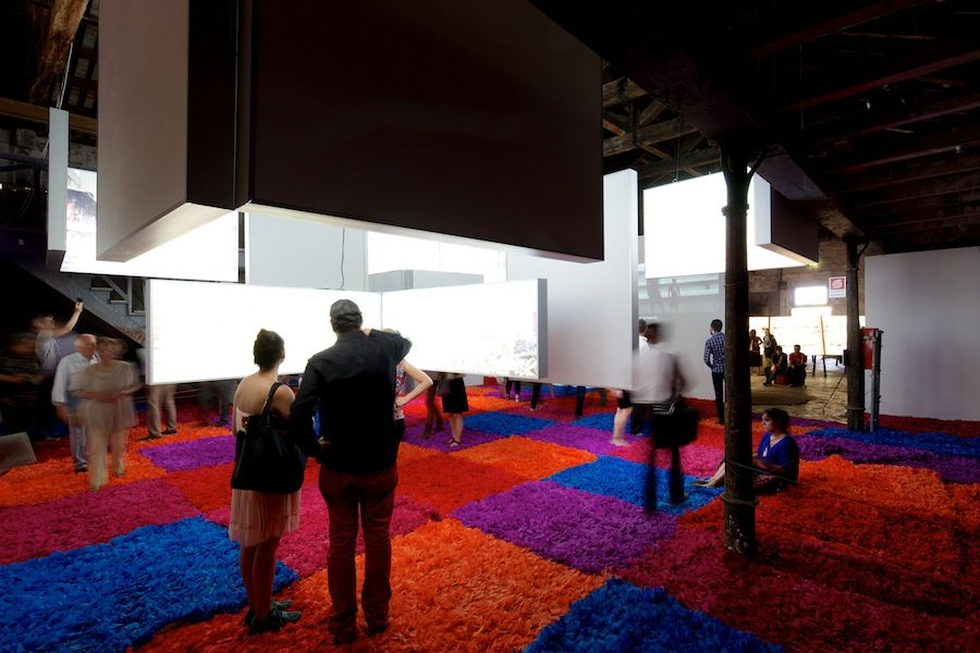 "Dominican Republic Pavilion: ""La Feira Concreta"". © Nico Saieh, courtesy of LAD"