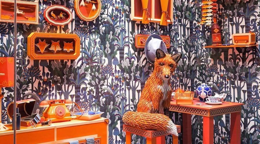 The Fox's Den by Zim Zou for Hermès