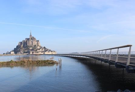 A Walk to Mont Saint Michel