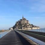 Walking to Mont San Michel