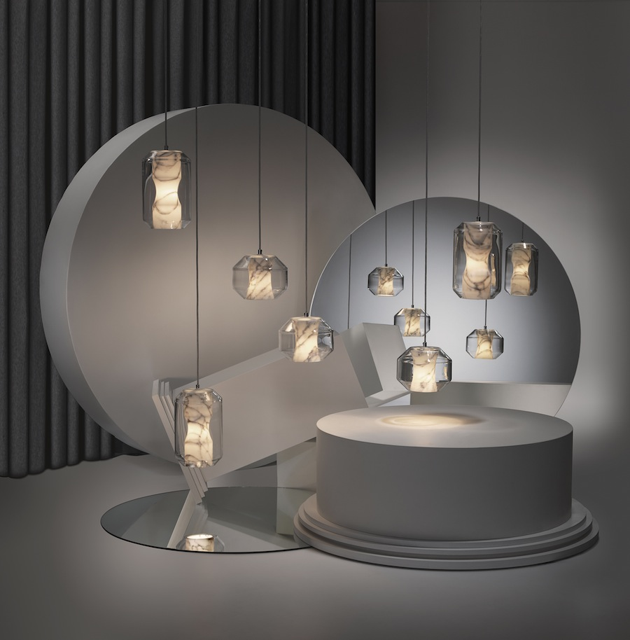Chamber lighting, , Nouveau Riche by Lee Broom - Photo by Arthur Woodcroft.