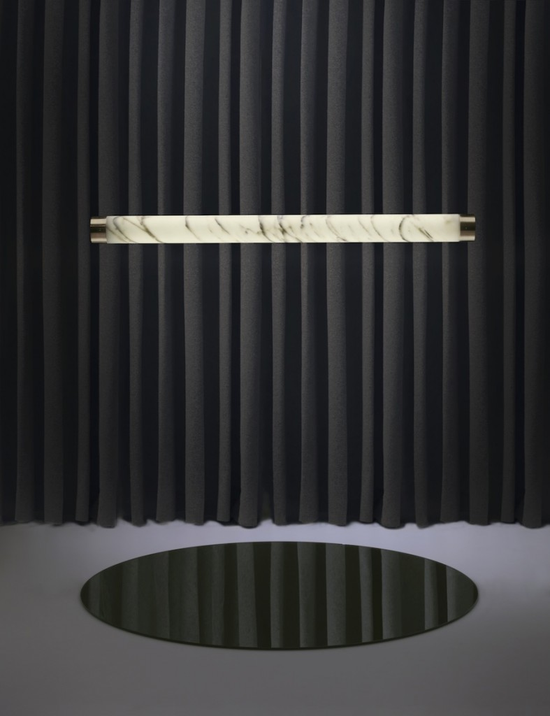 Tube light, Nouveau Riche by Lee Broom - Photo by Arthur Woodcroft.