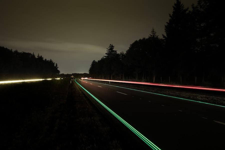 Smart Highway - Photo by Studio Roosegaarde