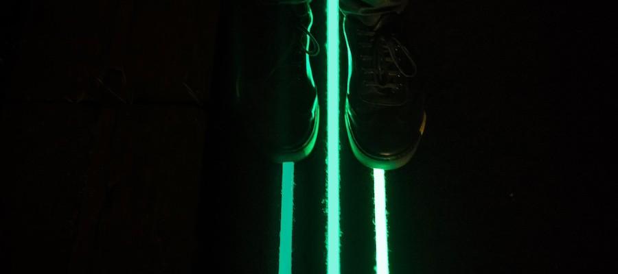 3 Glowing Lines Roosegaarde