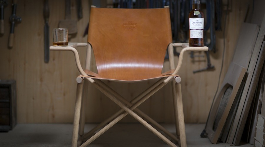 The Glenlivet Nadurra Dram Chair by Gareth Neal