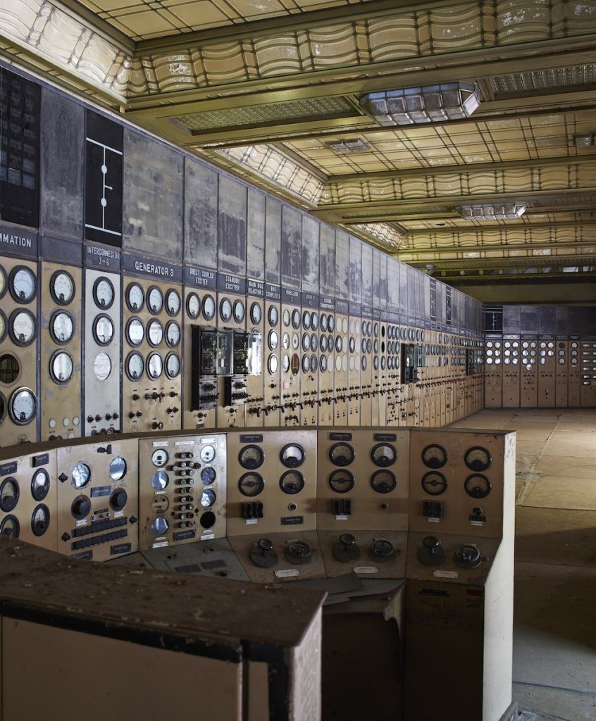Battersea Power Station - Power Station old Control Room.