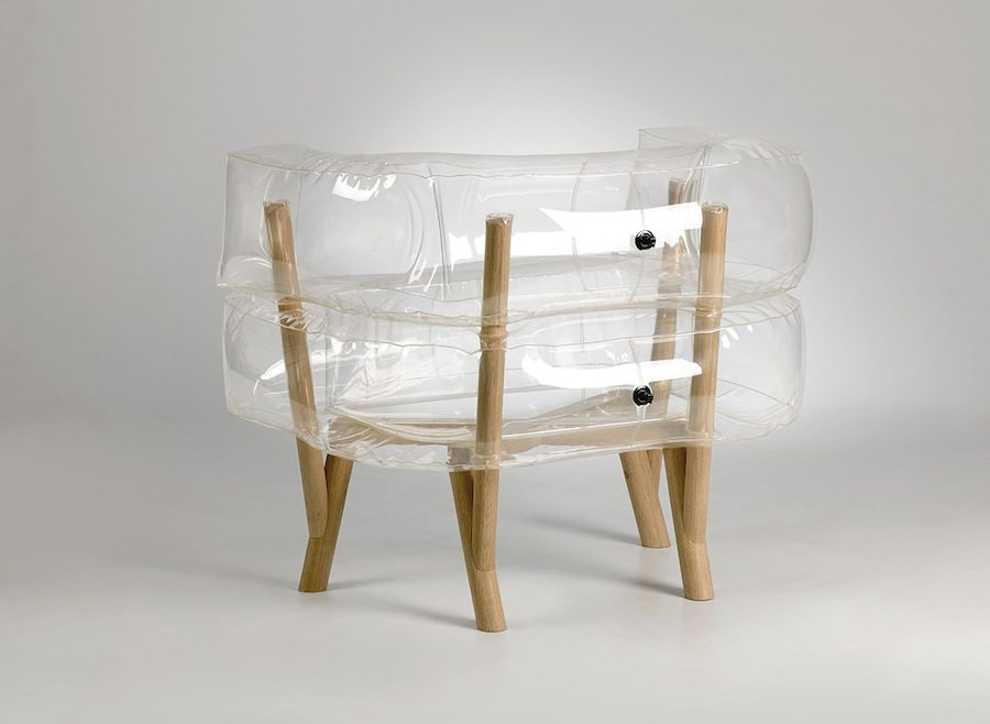 Anda Armchair by Tehila Guy - Back