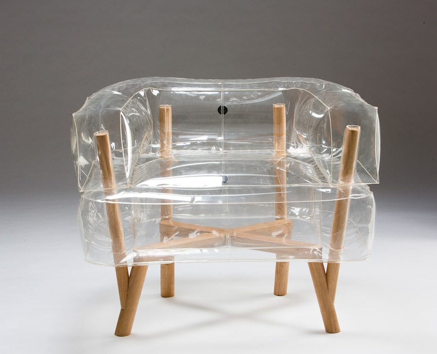 Anda Armchair by Tehila Guy - Front