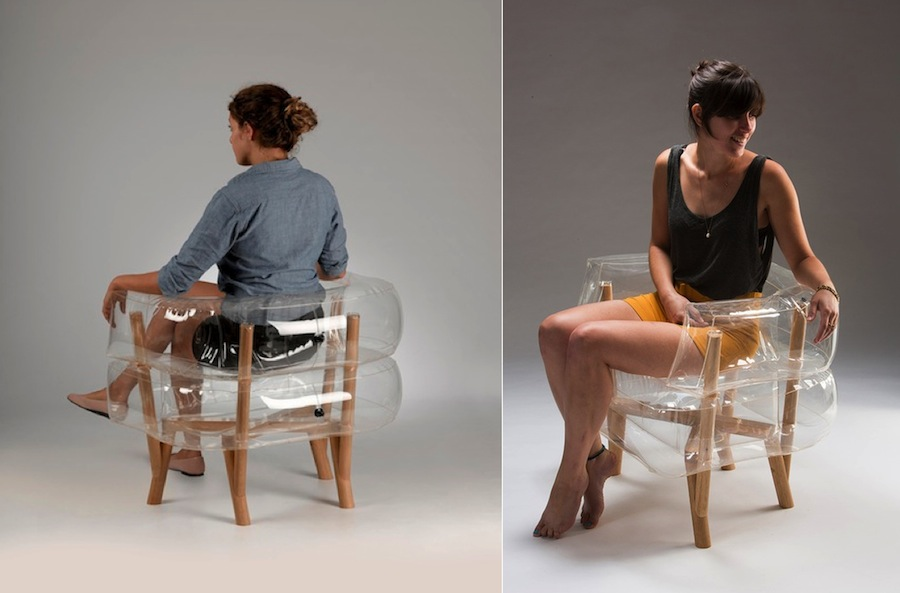 Anda Armchair by Tehila Guy - Model