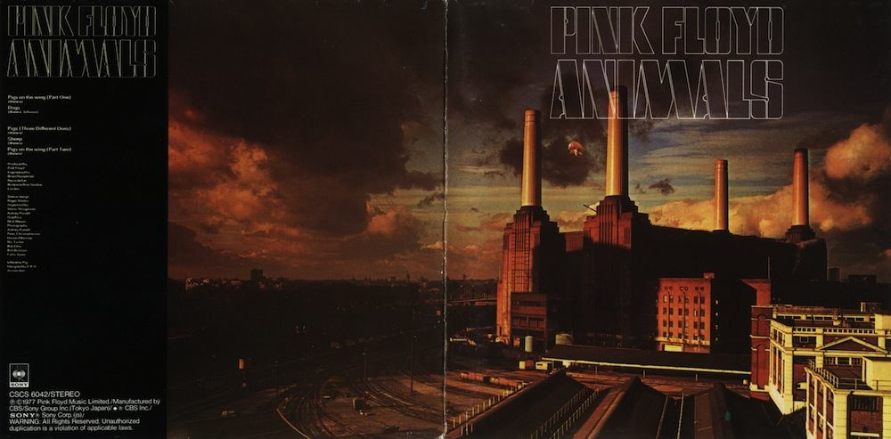 "Pink Floyd - ""Animal"" (cover of Japanese edition)"