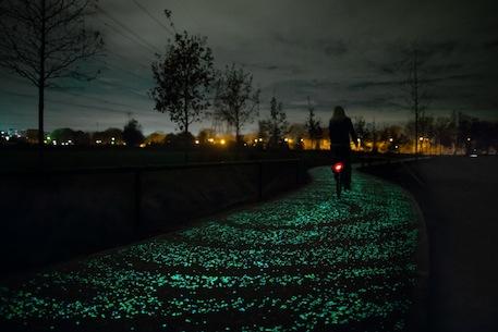 Biking on Van Gogh's Starry Night