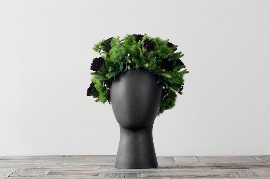 Wig Vase By Idilli