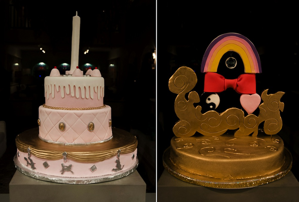 Chamber Cakes: Studio Job (left) and Victor & Rolf (right) - Photo by Antonella Tignanelli.