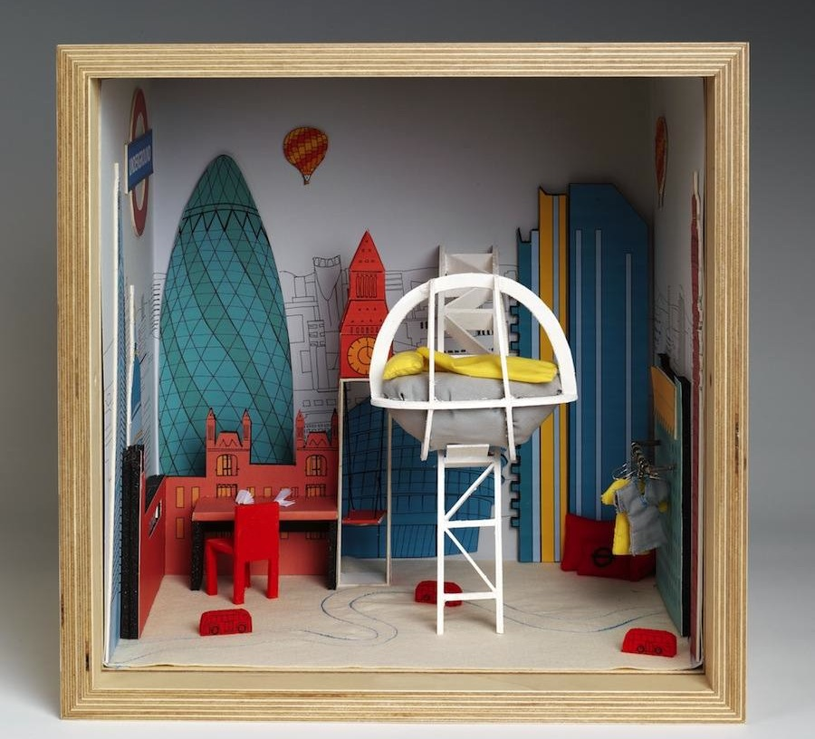 "Nancy Edwards - ""Small Stories: at Home in a Dolls' house"" - © Victoria and Albert Museum, London"