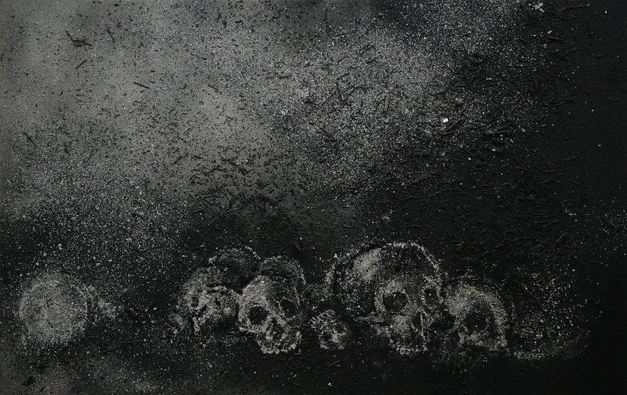 Zhang Huan, Skull No. 29, 2007. Courtesy of White Cube.