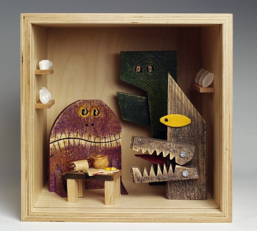 "Peter Marigold - ""Small Stories: at Home in a Dolls' house"" - © Victoria and Albert Museum, London"