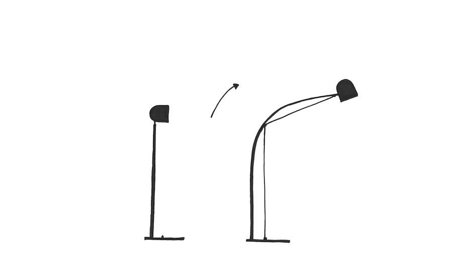 Nick Ross Studio – Tension lamp sketches3
