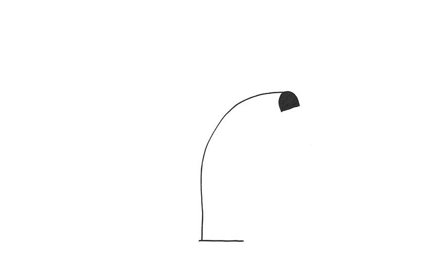 Nick Ross Studio – Tension lamp sketches3 copia