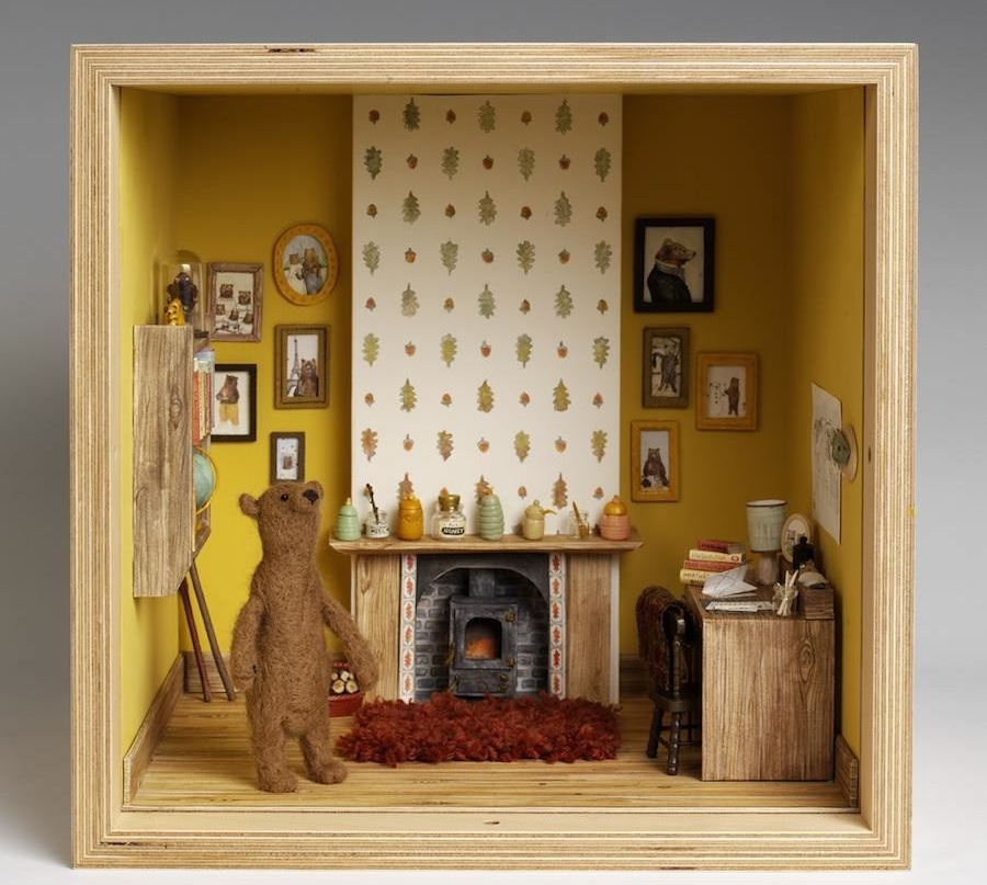 "Mister Peebles - ""Small Stories: at Home in a Dolls' house"" - © Victoria and Albert Museum, London"