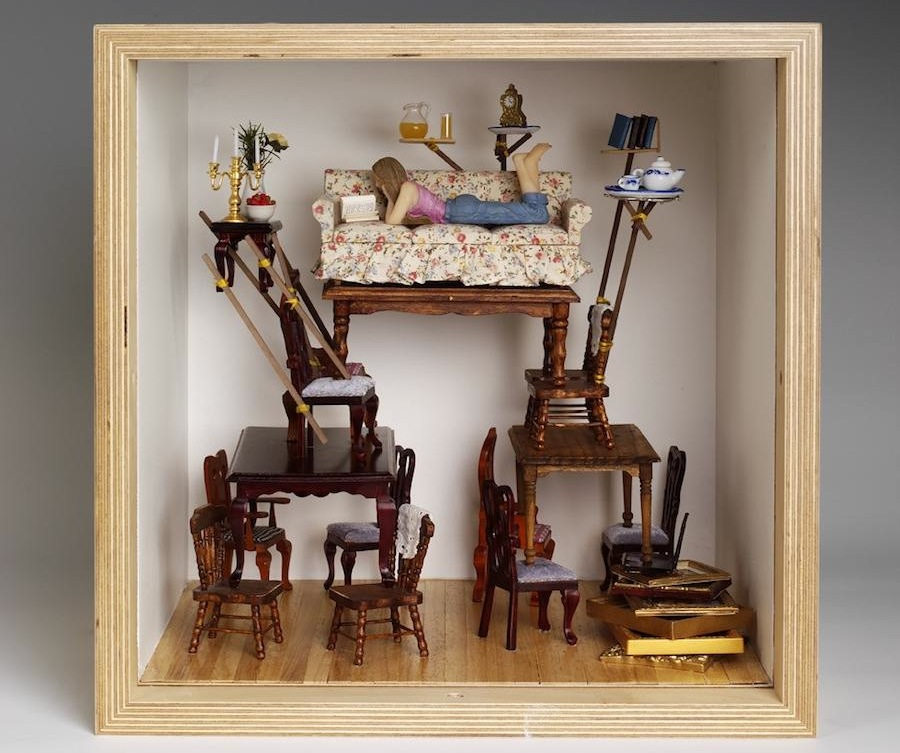 "Dominic Wilcox - ""Small Stories: at Home in a Dolls' house"""