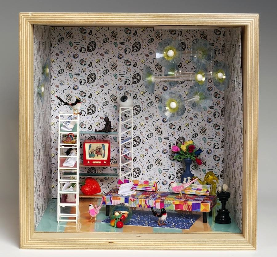 "Bethan Woods - ""Small Stories: at Home in a Dolls' house"""